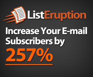 List Eruption: Let Your Subscribers Build Your List For You